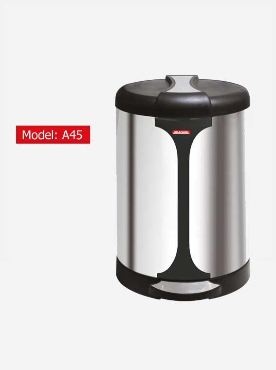 سطل زباله اداری شفق مدل A45
