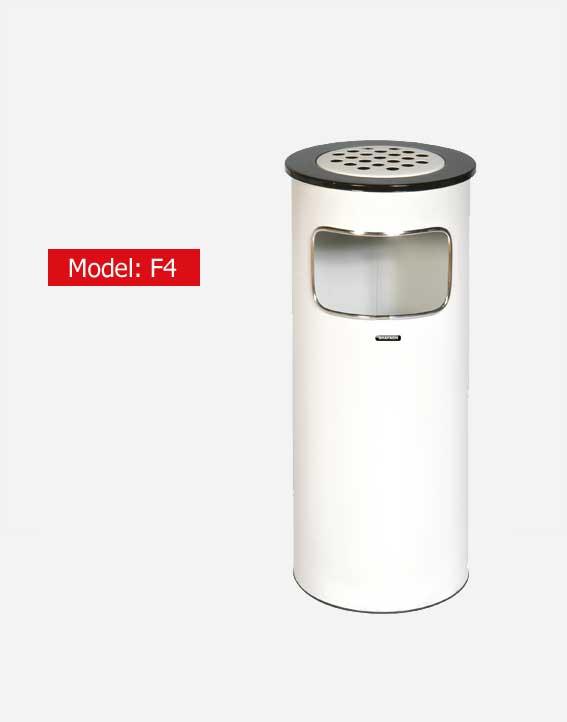 سطل زباله اداری شفق مدل F4