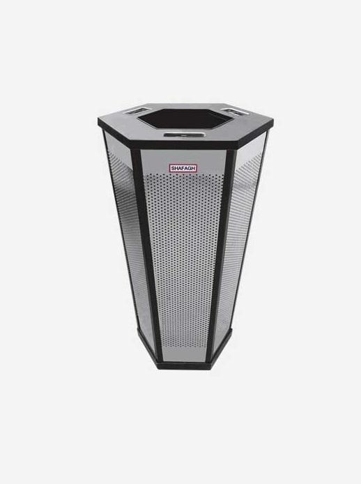 سطل زباله اداری شفق