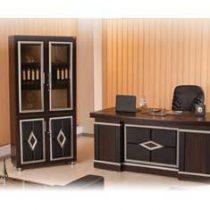 میز مدیریت و کتابخانه سامان